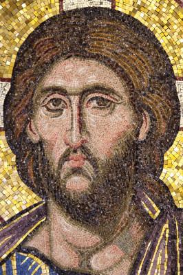 Christ mosaic front