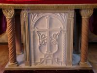 Stone altar (Shrewsbury, U.K.)