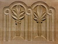 Organ case panel, More, Shropshire
