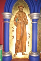 St Francis of Assisi (Fresco)