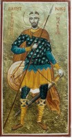 St Edmund king and martyr