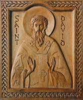 St David of Wales (carving 2)