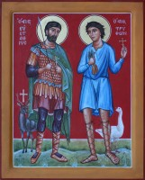 St Eustathios and St Tryphon