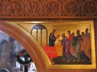 Oak iconostasis (detail)
