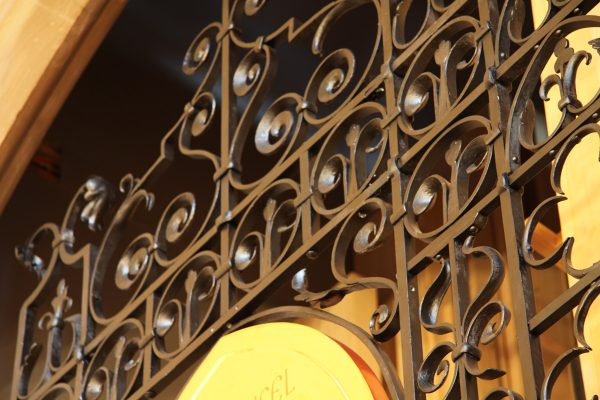 Wrought Iron Screen, St Michaels and All Angels,