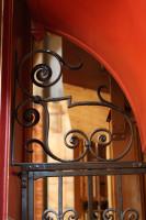 Organ gates, detail