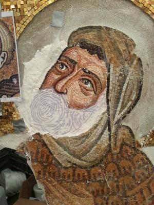 mosaic technique step 1