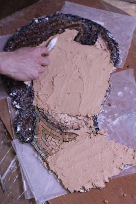 mosaic technique step 4