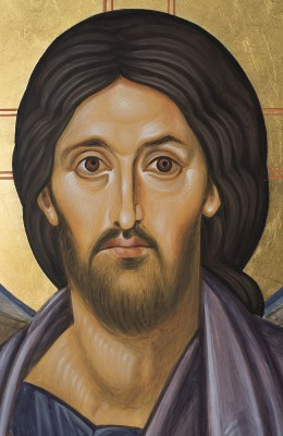 Sinai Christ icon web detail