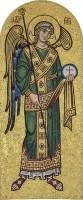Archangel Michael mosaic, private chapel