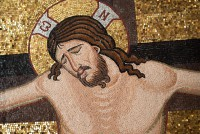 Christ Crucified, detail from The Crucifixion