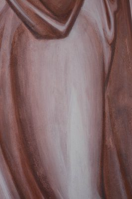 Transfiguration fresco icon moses detail 3