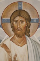 Jesus Christ, detail from Transfiguration fresco