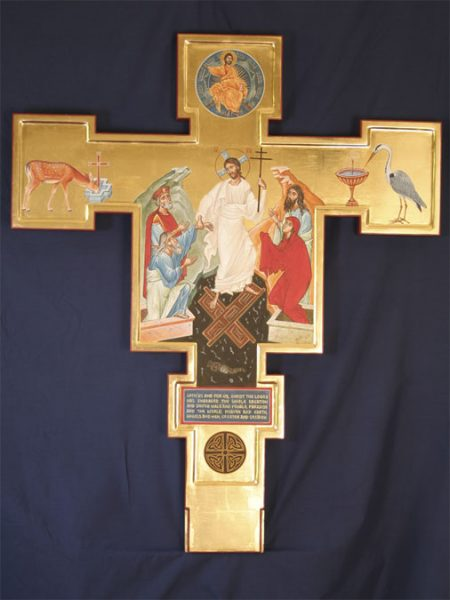 Double sided crucifix