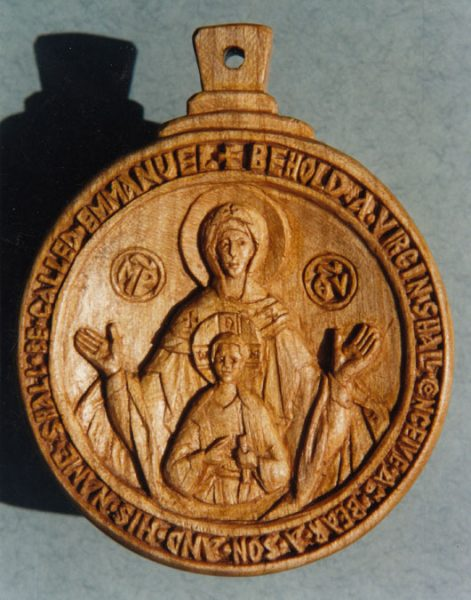 Encolpion, Our Lady of the Sign