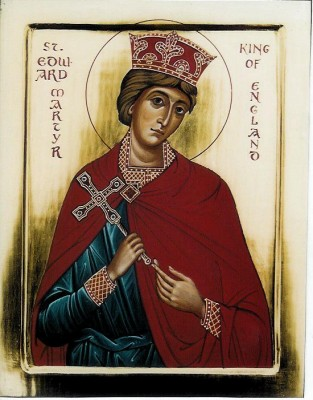 St Edward Martyr King of England