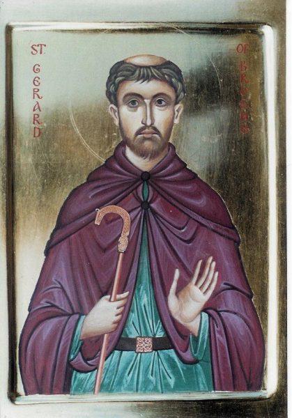 St Gerard of Brogne