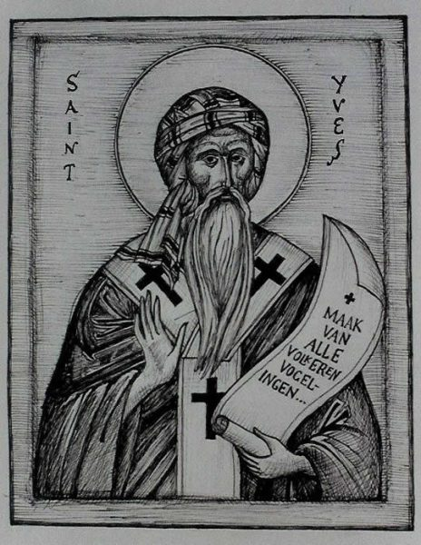 St Yves (of Cornwall, drawing)