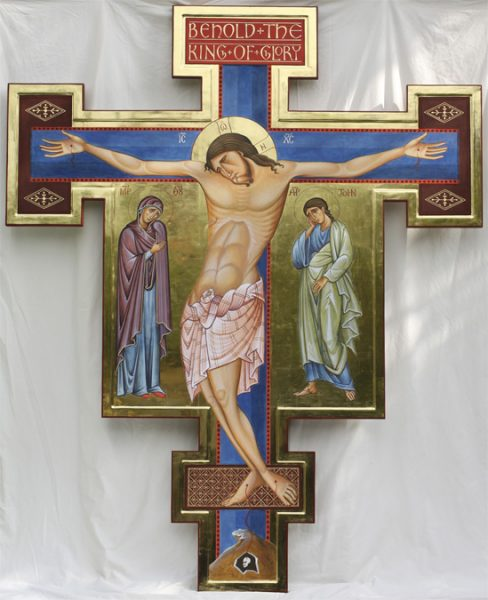 Crucifix at St Urban's Catholic Church, Leeds