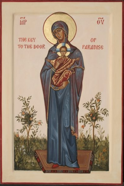 The Mother of God – Key to the Door of Paradise