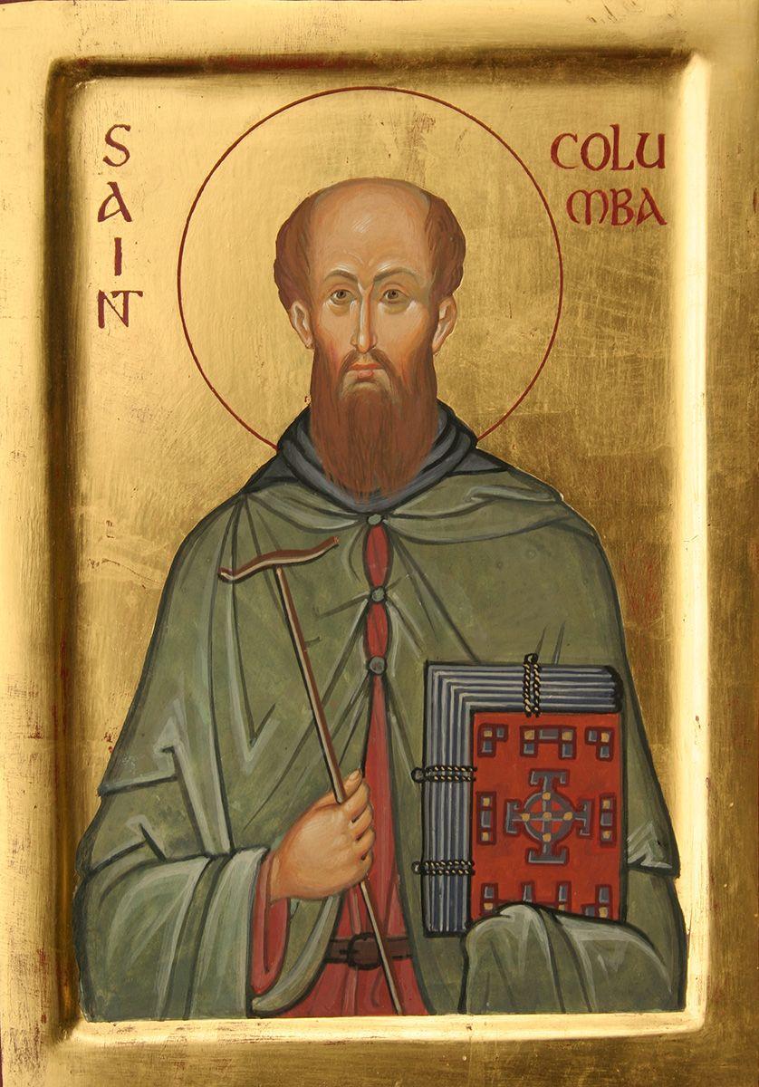 Αποτέλεσμα εικόνας για saint columba