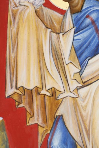 The Prophet Moses (detail)