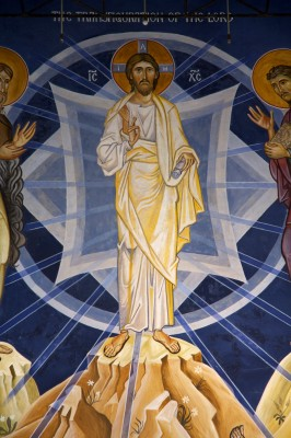 The Transfiguration Fresco, Our Lady of Lourdes, Leeds, UK