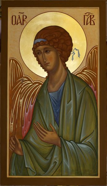 Archangel Gabriel, St Nicholas Orthodox Church, Amsterdam