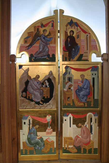 Royal doors. « & Royal doors - Aidan Hart Sacred Icons