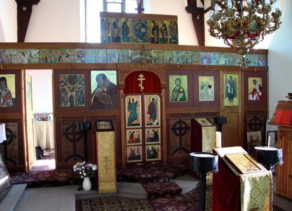 The Orthodox Church of the Ascension of the Lord, Rugby, U.K.