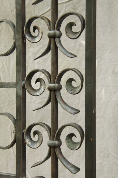 Detail of iron work