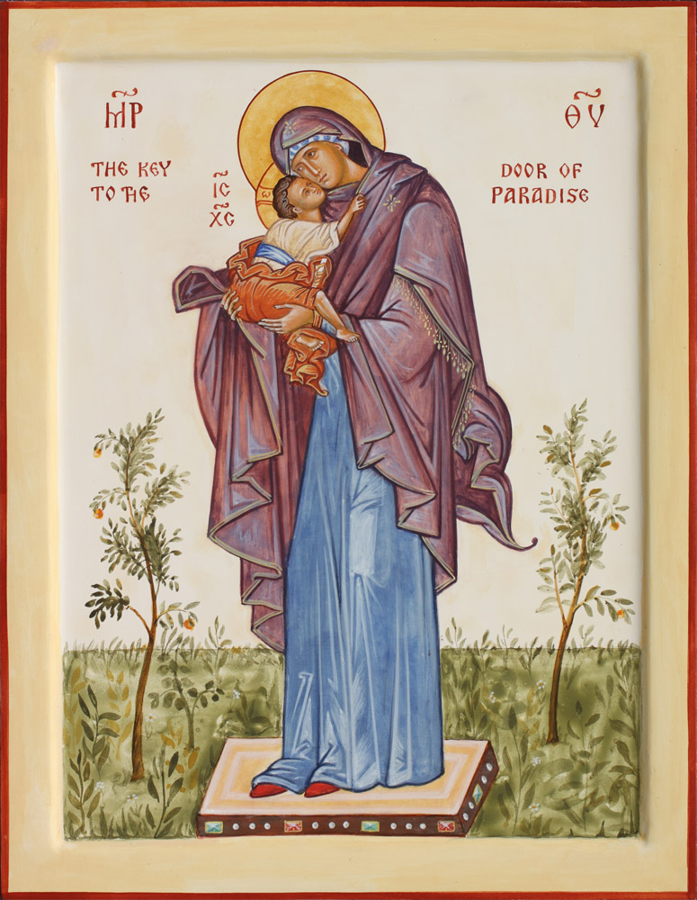 The Key to the Door of Paradise. «  sc 1 st  Aidan Hart & The Key to the Door of Paradise - Aidan Hart Sacred Icons