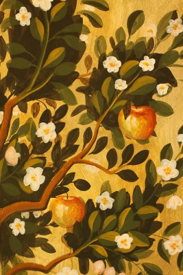 fresco-fruit-tree-detail