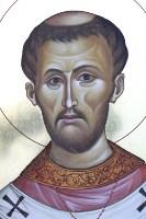 St Alphege/ Aelfheah of Canterbury (detail)