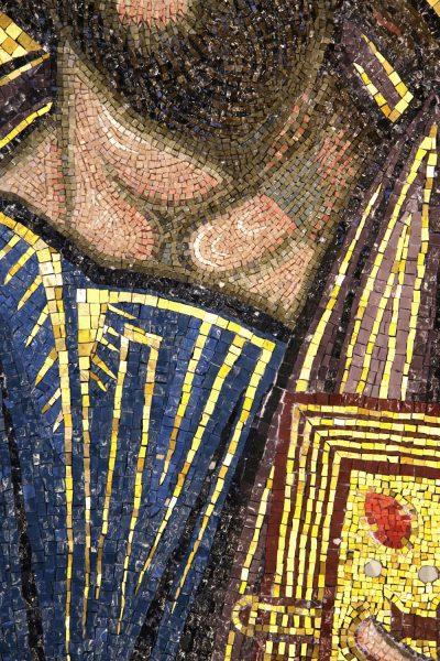 Pantocrator, detail