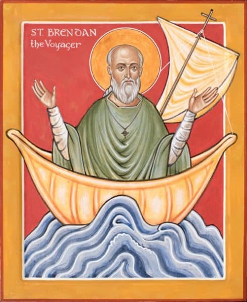 St Brenden the Voyager