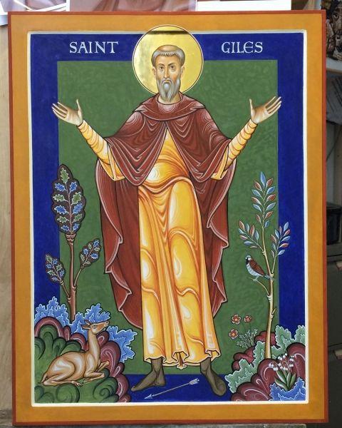 St Giles icon