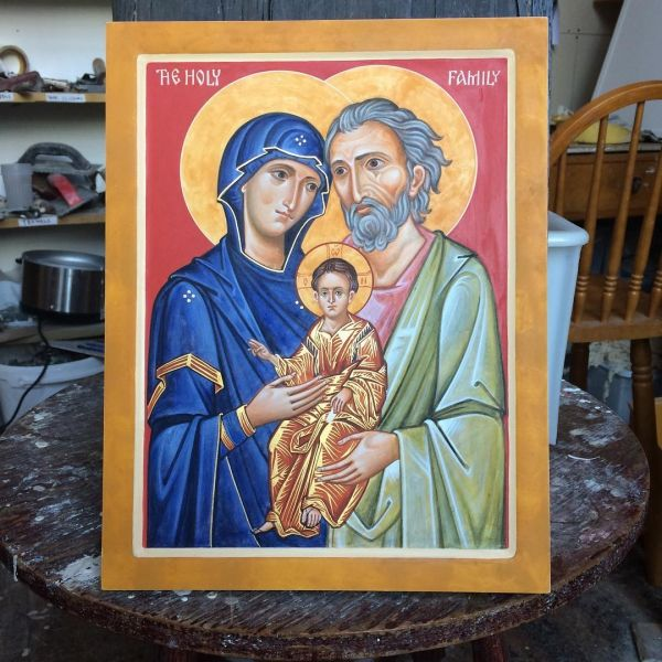 New icon of the Holy Family.