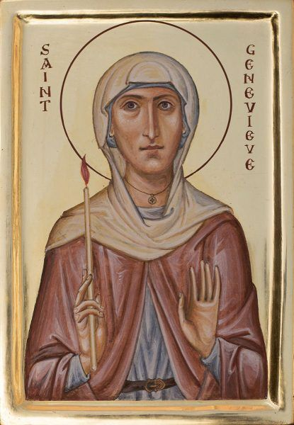 St Genevieve of Paris