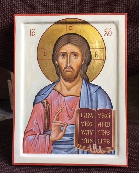 Christ the Saviour. The latest icon of Christ