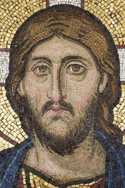 Christ Pantocrator, detail