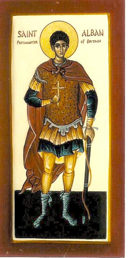 St Alban - Aidan Hart Sacred Icons