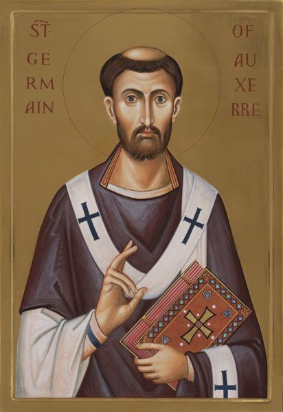 St Germain Germanus of Auxerre