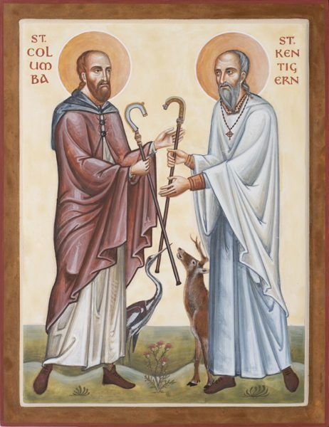 St Columba and St Kentigern Mungo