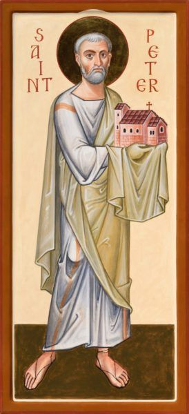 The Apostle Peter, for Beda College, Rome