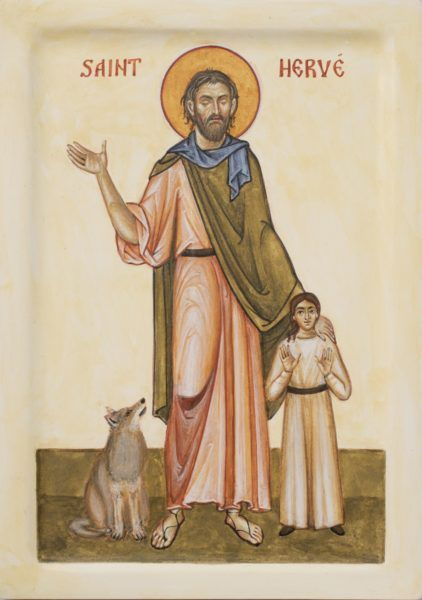 St Herve of Prittany