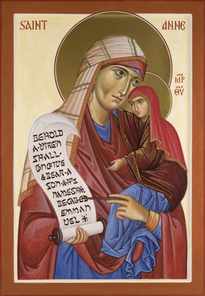 St Anne the Mother of the Virgin